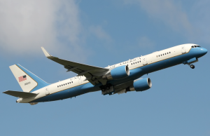 Air Force Two for Congress Members, Vice President and First Lady