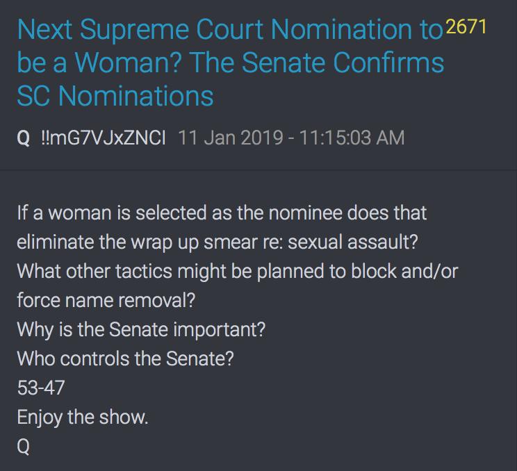 Die nächste Supreme Court Nominierung könnte eine Frau sein