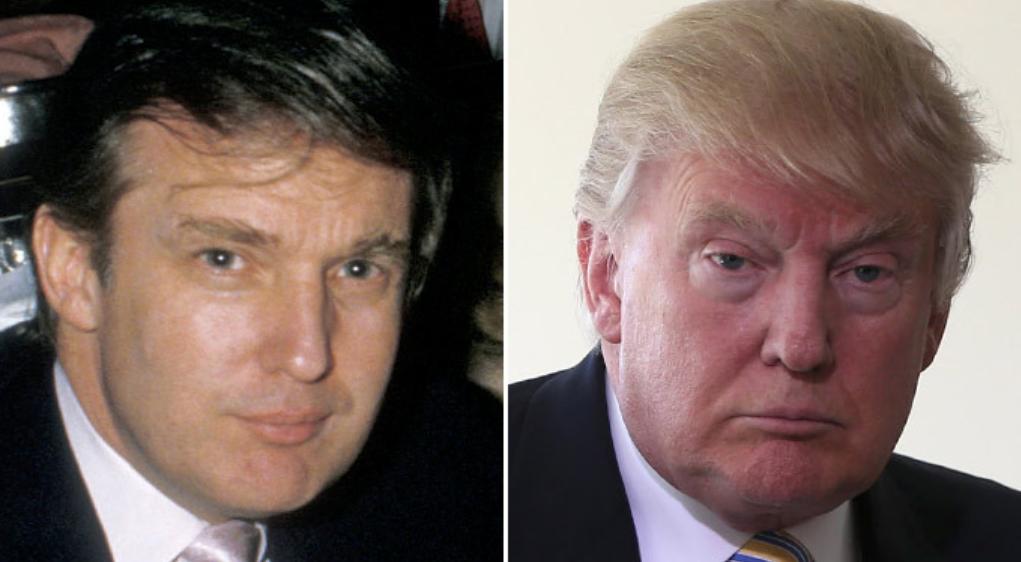 Donald Trump 1988 und heute