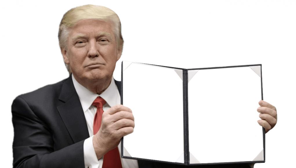 Donald Trump Transparenz Meme