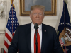 Donald Trump hält eine Rede zur Immigration am 19. Januar 2019