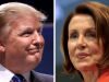 Donald Trump und Nancy Pelosi Komp.