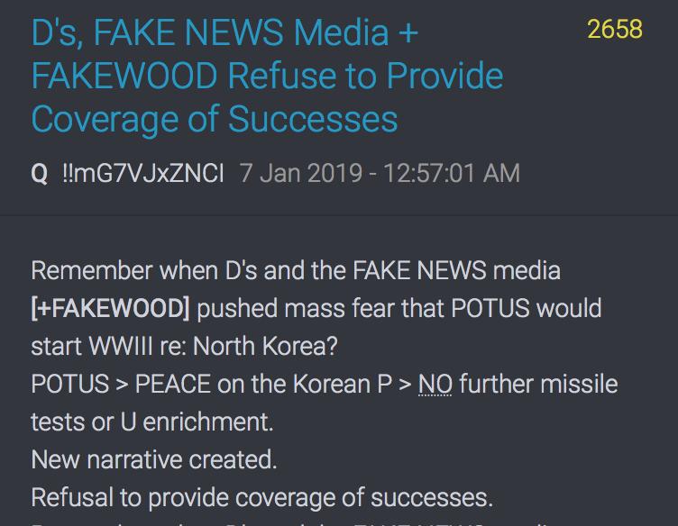 Die Medien berichten nicht über Trumps Erfolge