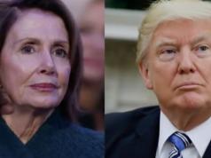 Nancy Pelosi, Donald Trump