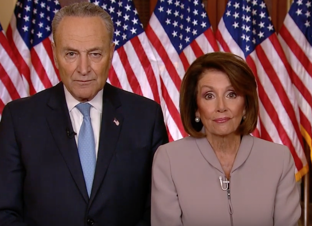 Senator Chuck Schumer und House Speaker Nancy Pelosi