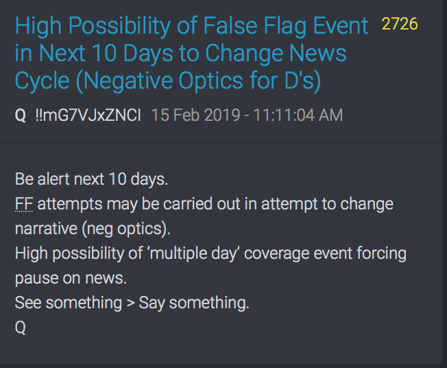 2726 QAnon FF next 10 days