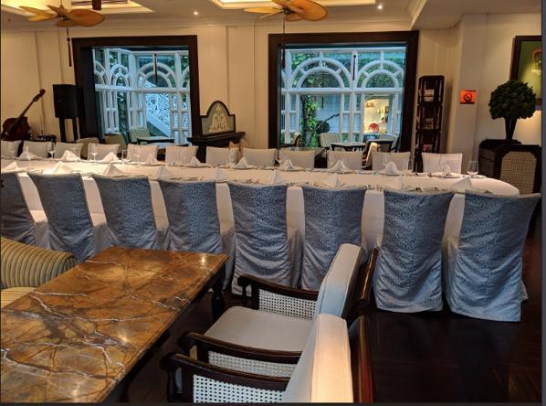 2904 QAnon Hotel Hanoi Blick in den Speisesaal