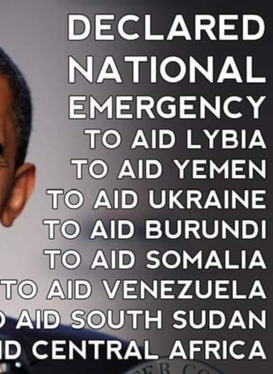 Notstandsgründe für Obama