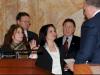 Senatorin Dawn Marie Addiego wird eingeschworen als republikanische Senatorin