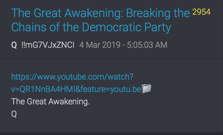 2954 QAnon Walk Away