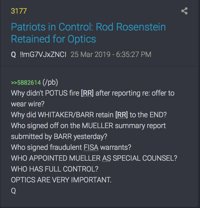 3177 QAnon Wer unterzeichnete Muellers Report