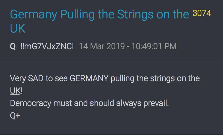3974 QAnon Deutschland hält die Fäden in der Hand