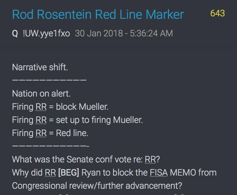 643 QAnon Rod Rosenstein Rote Linie