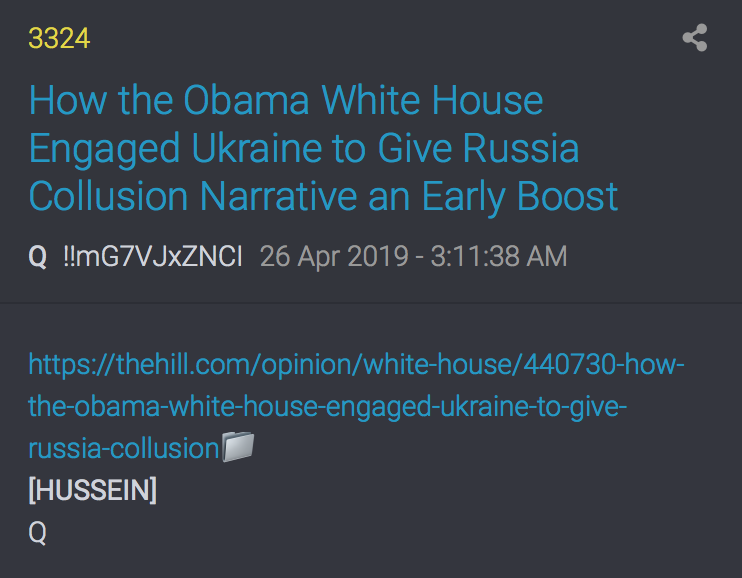 3324 QAnon Obama Ukraine