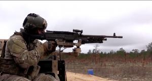 Amerikanischer Soldat der Air Force Special