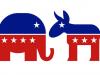 Die Symbole der amerikanischen Parteien