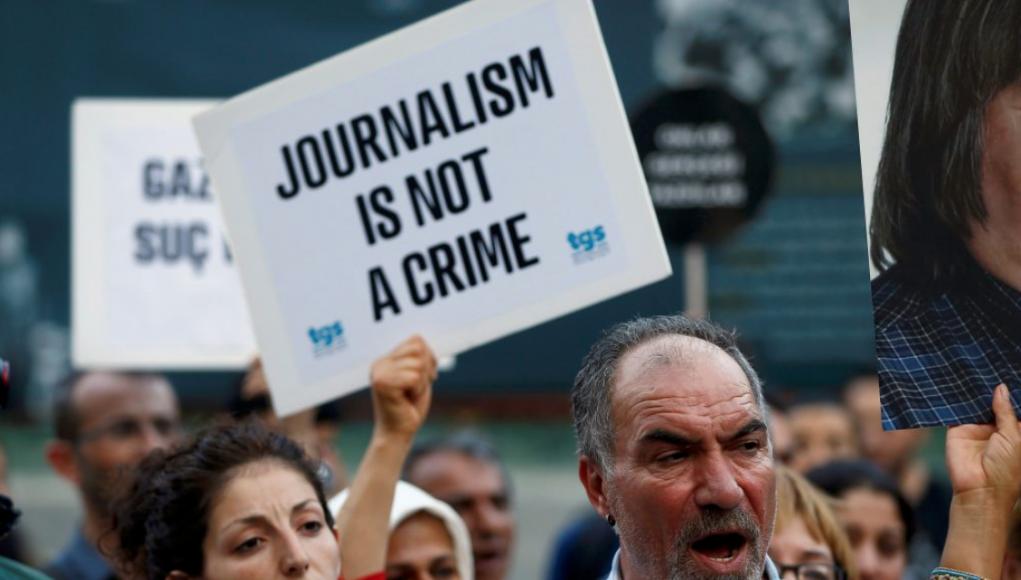 Behauptung: Journalismus ist keine Straftat