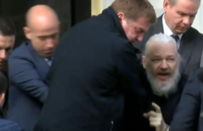 Julian Assange Verhaftung