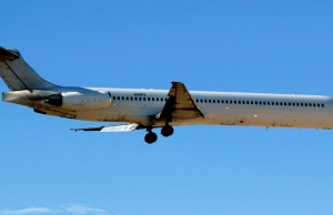 US Government JPATS (Justice Prisoner and Alien Transportation System) for United States Immigration and Naturalization Service (INS) Ghost Plane McDonnell Douglas DC-9-83 (MD-83) N311FV