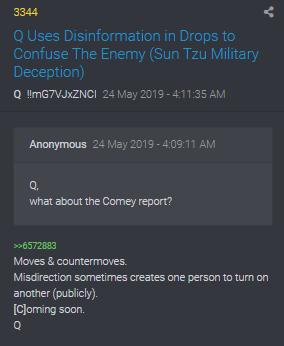 3344 QAnon Desinformation zu Comey