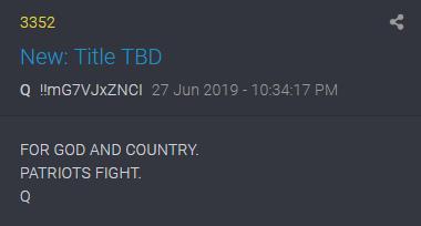 3352 QAnon Patrioten kämpfen