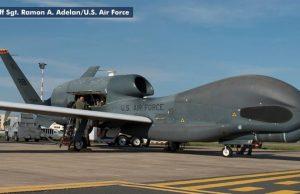 US-Drohne, vor dem Iran abgeschossen, Bild US Air Force