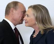 Clinton und Putin zu Zeiten des U1