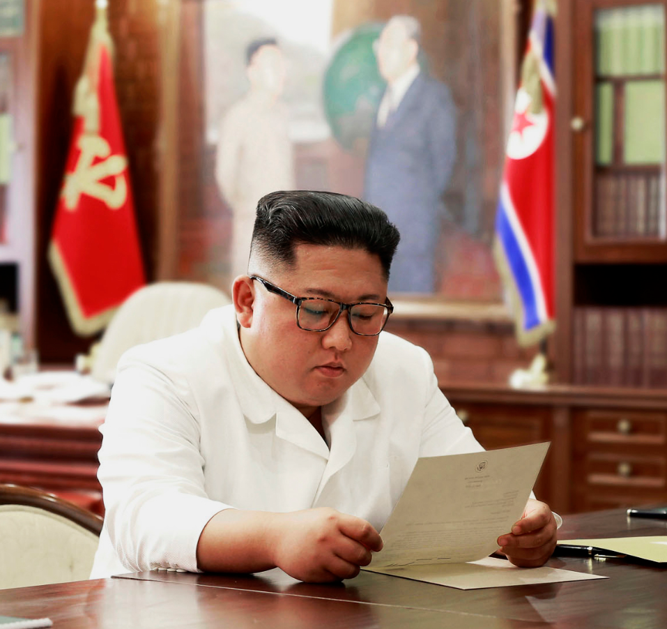 Kim Jong-un list Trumps Brief Quelle KCNA Korean Central News Agency