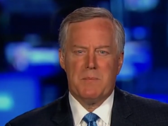 Mark Meadows Screenshot Fox News Video