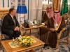 Mike Pompeo trifft auf saudischen König, um über die Sicherheit der Regien zu verhandeln