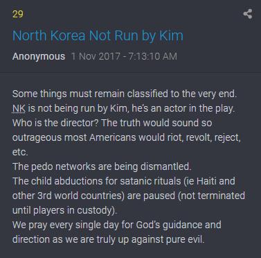29 QAnon Wer regiert Nordkorea