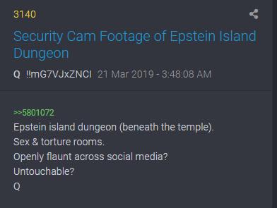 3140 QAnon Verlies unter Epsteins Tempel