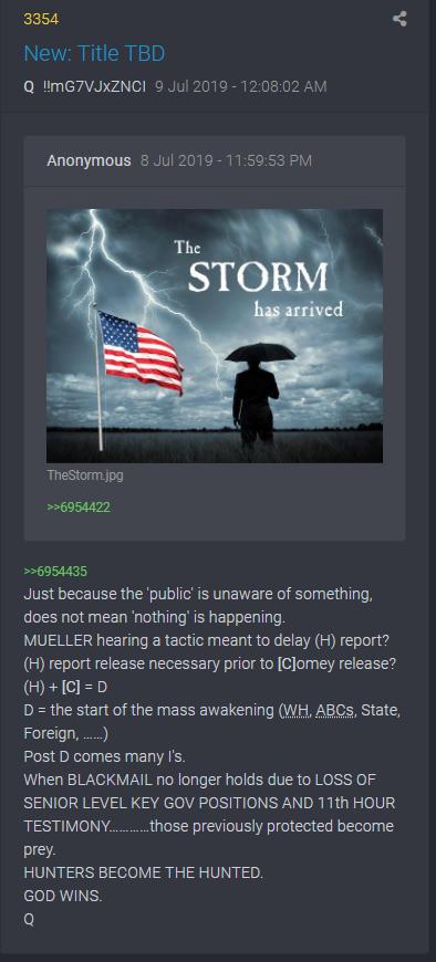 3354 QAnon Der Sturm ist da