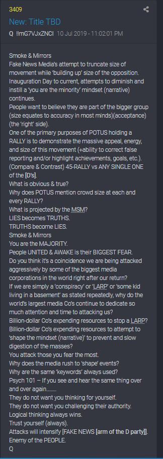 3409 QAnon - Die Attacken der Medien und Dems werden sich verstärken