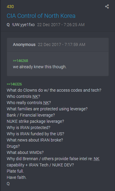 430 QAnon - Die CIA kontrolliert Nordkorea