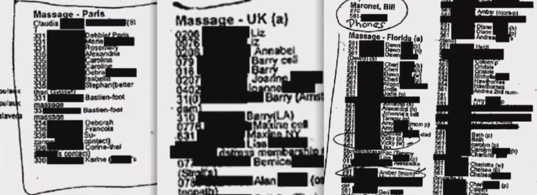 Epstein nannte es Massage
