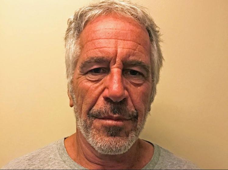 Jeffrey Epstein offizielles Polizeifoto