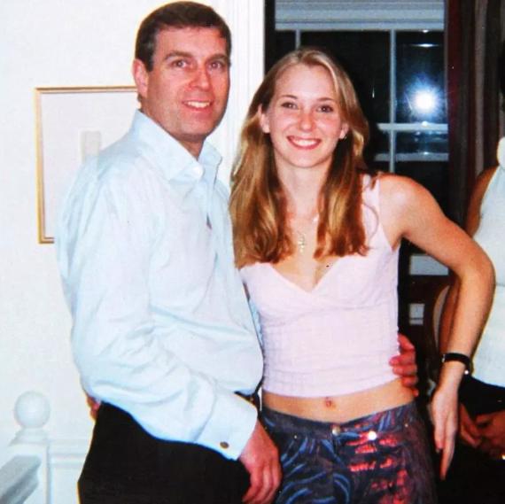 Prinz Andrew und die minderjährige Virginia Roberts Giuffre