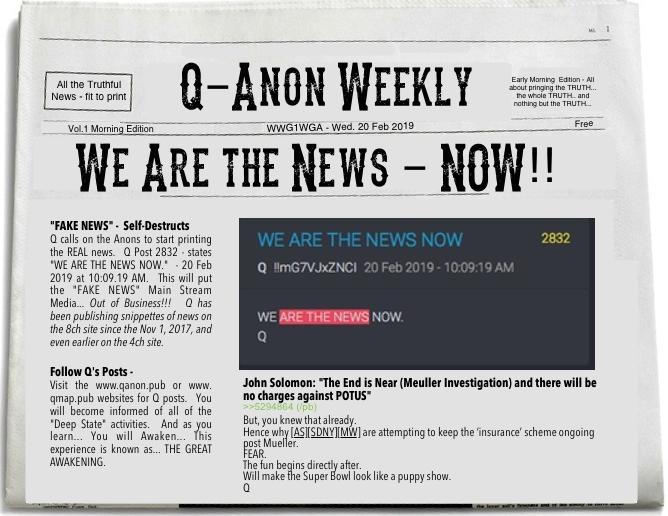 QAnon - Wir sind jetzt die Nachrichten