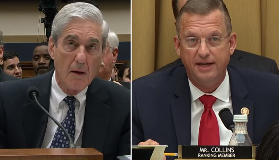 Robert Mueller und Doug Collins