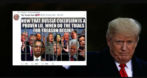 Trump retweet Trials Foto QAnon qmap.pub