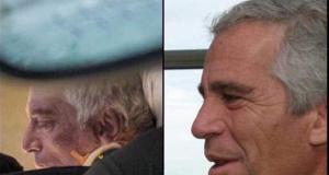 Epstein auf dem Weg ins Krankenhaus