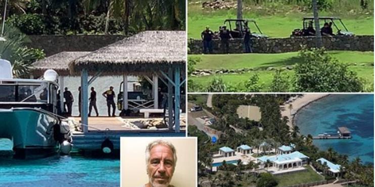 FBI Beamte auf Epsteins Insel
