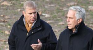 Prinz Andrew und Jeffrey Epstein
