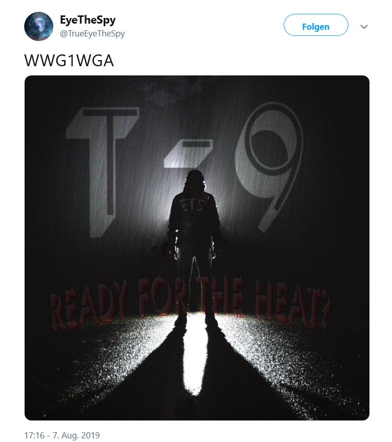 Hinweis auf 16. August 2019