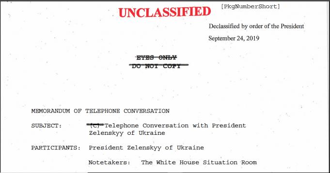 Freigabe Telefonat zwischen Trump und Zelinsky