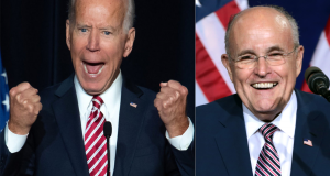 Joe Biden - Rudy Giuliani