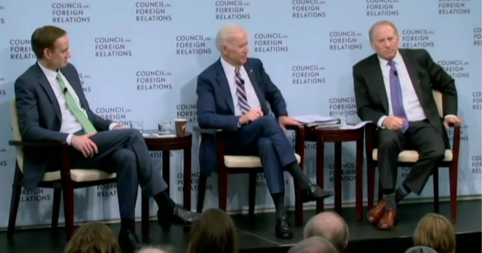 Joe Biden prahlt, die Ukraine erpresst zu haben