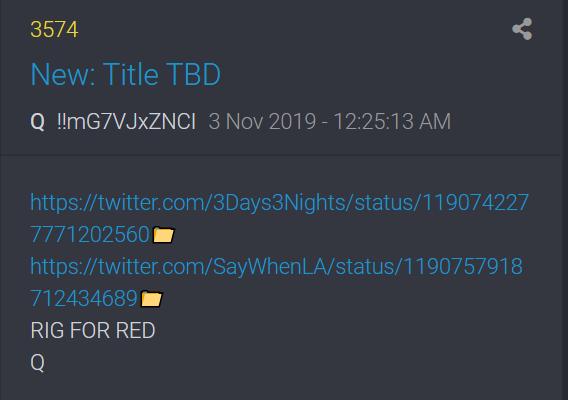 3574 QAnon erster Beitrag November 2019
