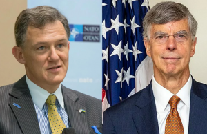 Die beiden Zeugen George Kent und William Taylor, Foto US State Department